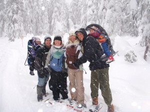Snowshoeing at Cypress